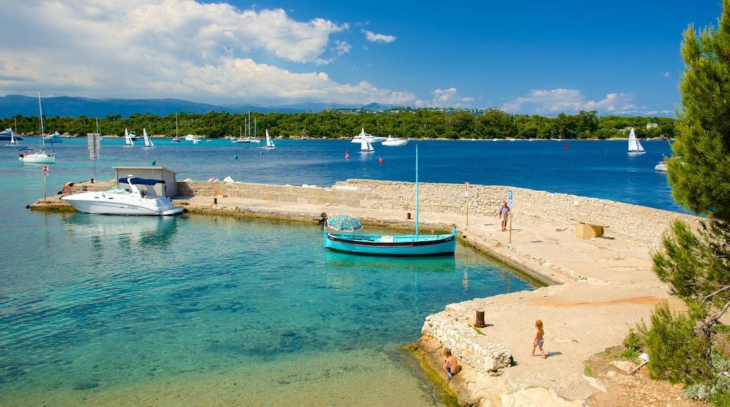 Île Saint-Honorat inclusief een baai of haven