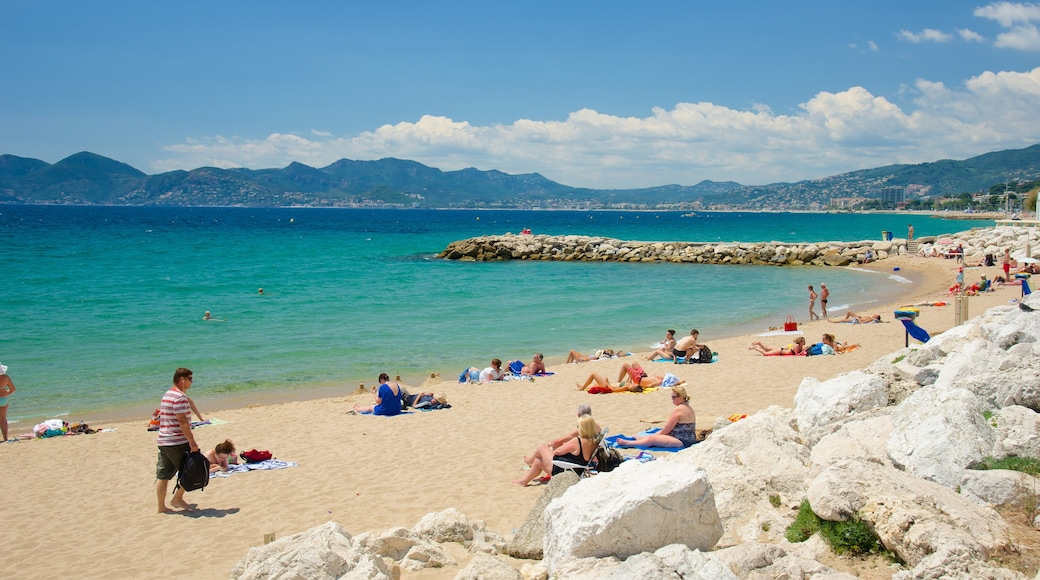 Midi Beach showing a beach