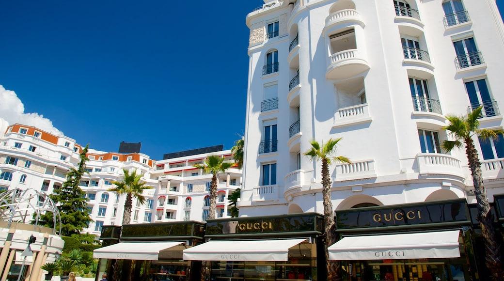 La Croisette che include hotel