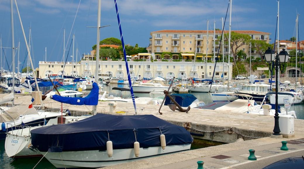 Saint-Jean-Cap-Ferrat featuring venesatama, lahti tai satama ja rannikkokaupunki