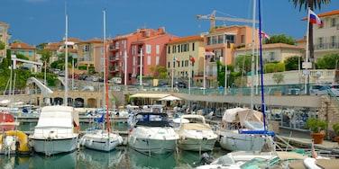 Saint-Jean-Cap-Ferrat mit einem Küstenort und Marina