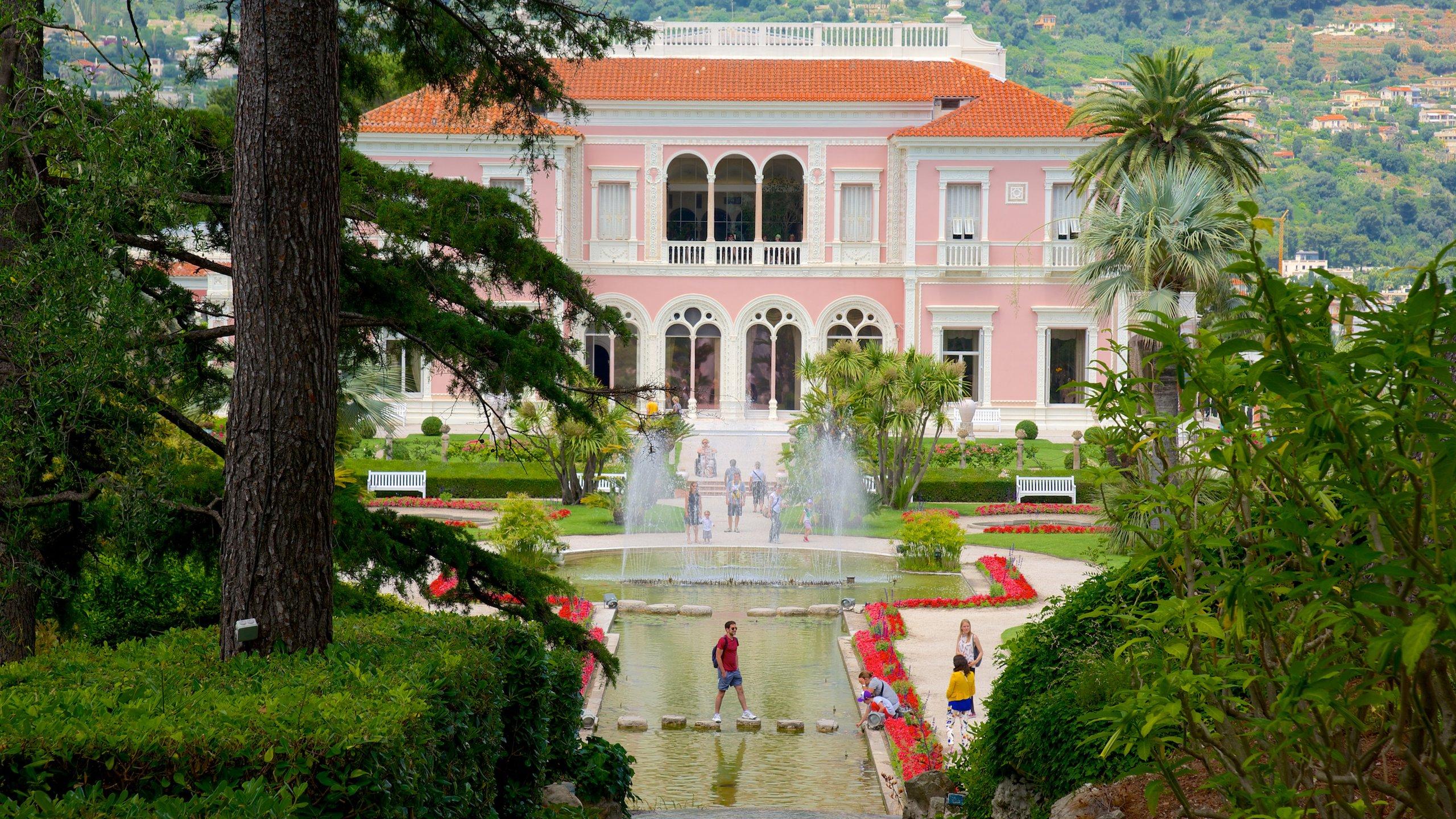 Villa Ephrussi de Rothschild, Saint-Jean-Cap-Ferrat, Département Alpes-Maritimes, Frankreich