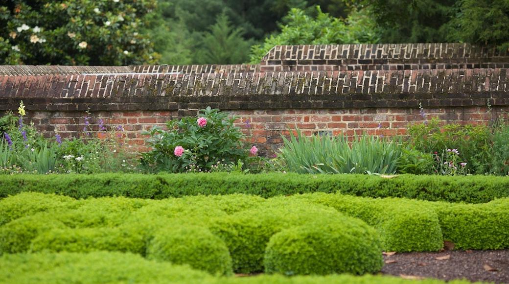 George Washington\'s Mount Vernon mostrando un jardín