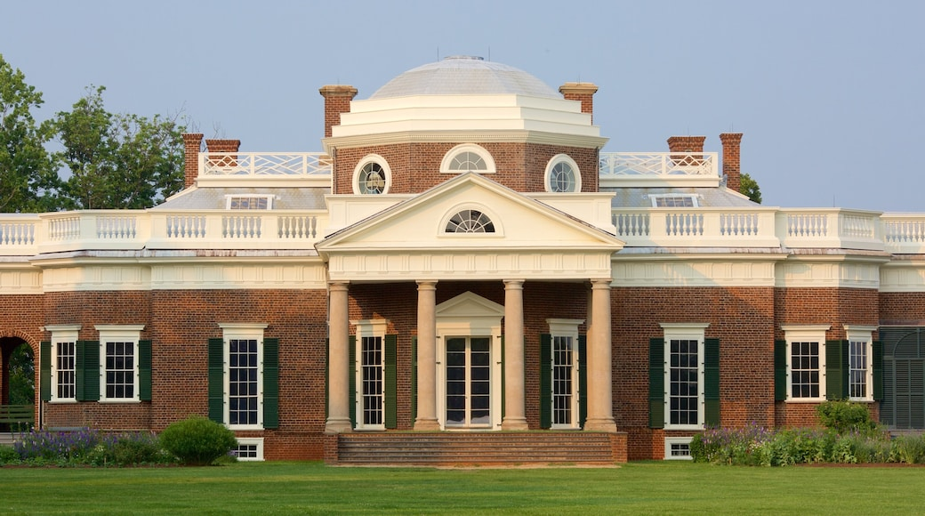 Monticello showing a memorial and heritage architecture