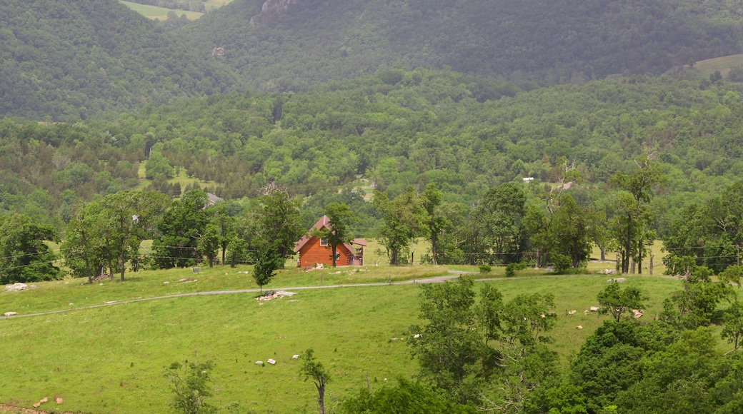 Canaan Valley which includes a house, farmland and tranquil scenes