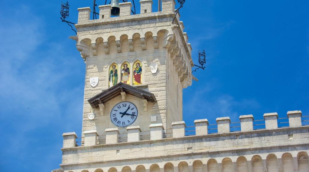 自由廣場 呈现出 行政大樓 和 歷史建築