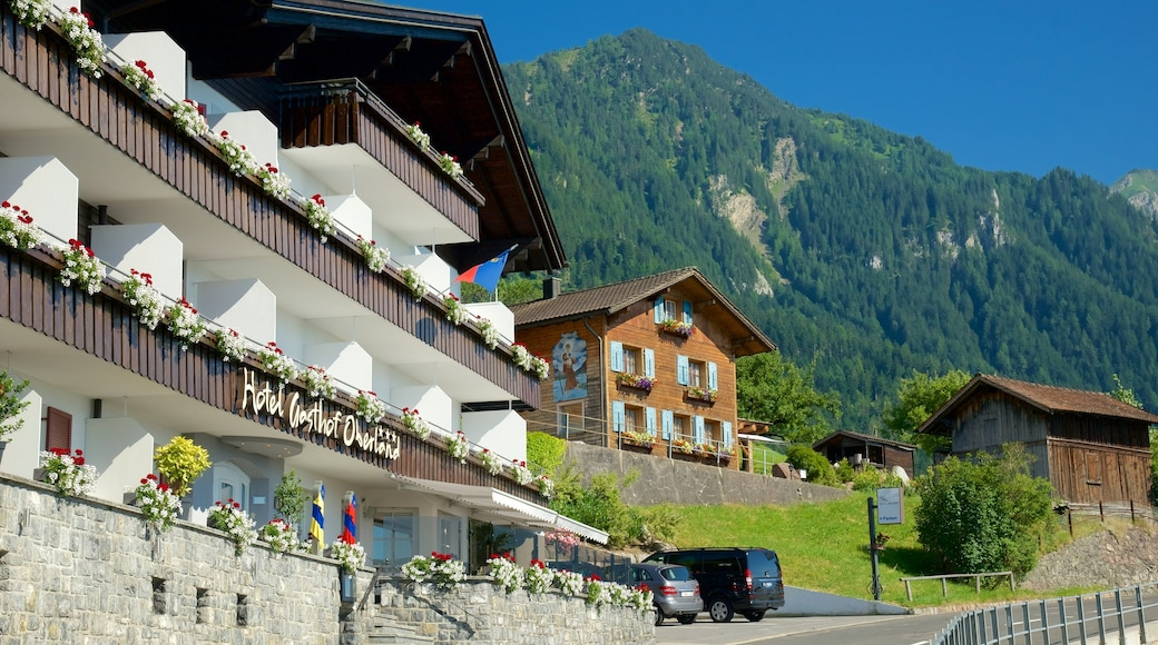 Triesenberg das einen Berge und Hotel