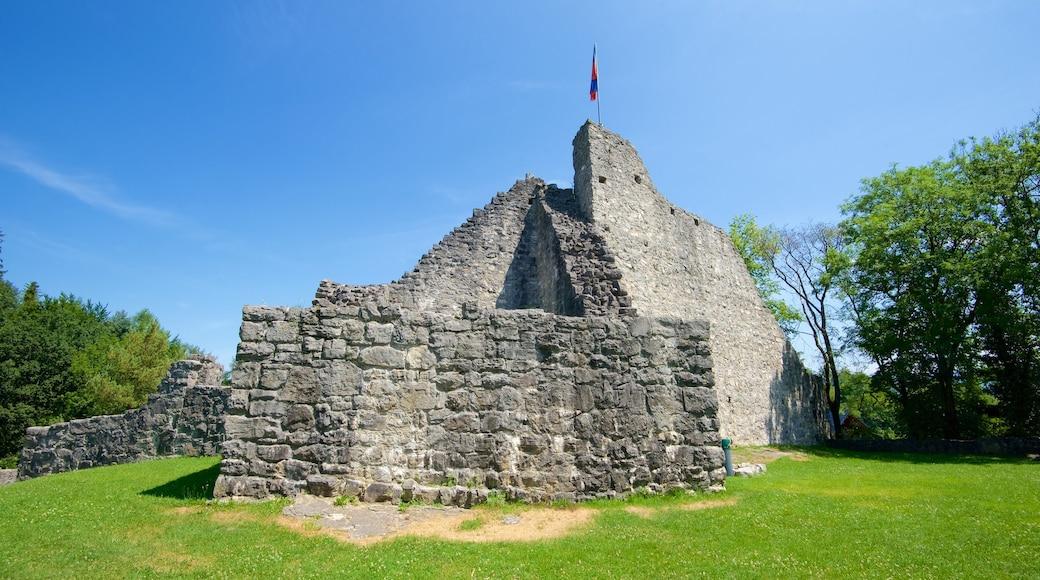 Liechtenstein showing heritage elements and building ruins