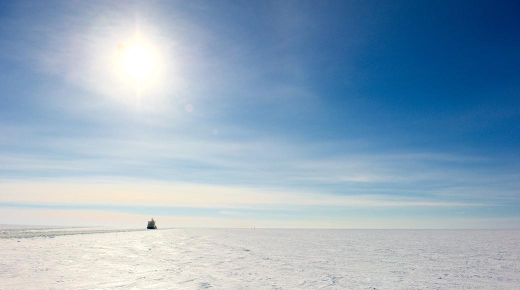 Kemi featuring maisemat ja lunta
