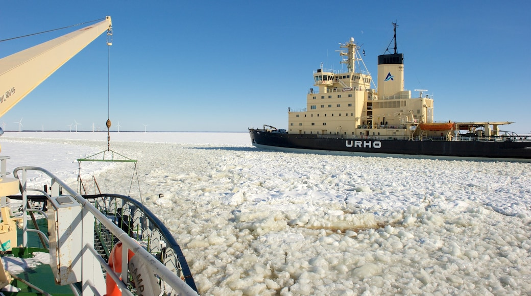 Kemi featuring lunta ja risteily