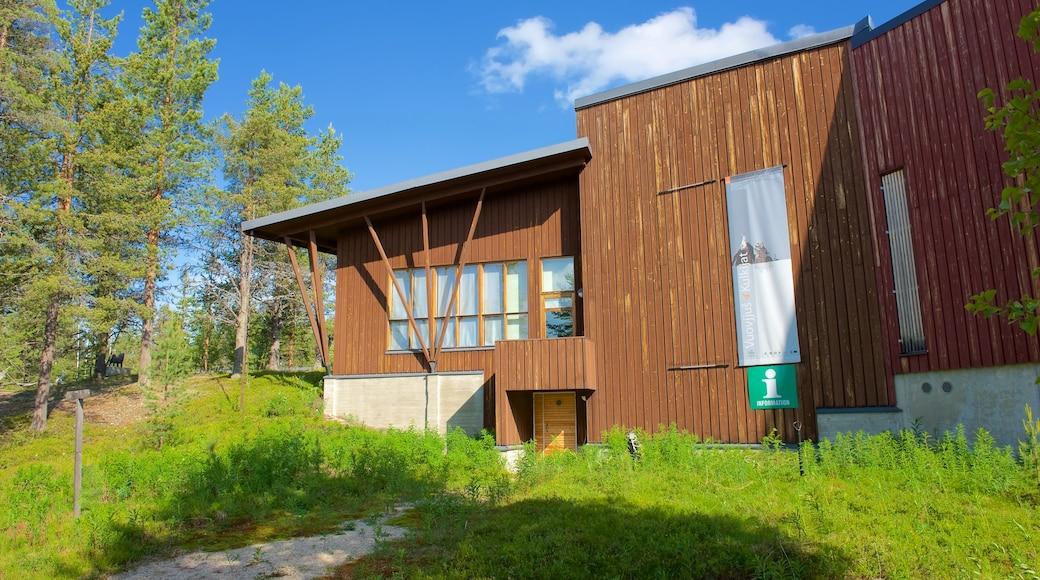 Tunturi-Lapin luontokeskus featuring rauhalliset maisemat