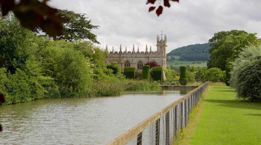 Sudeley Castle which includes a garden, a river or creek and château or palace