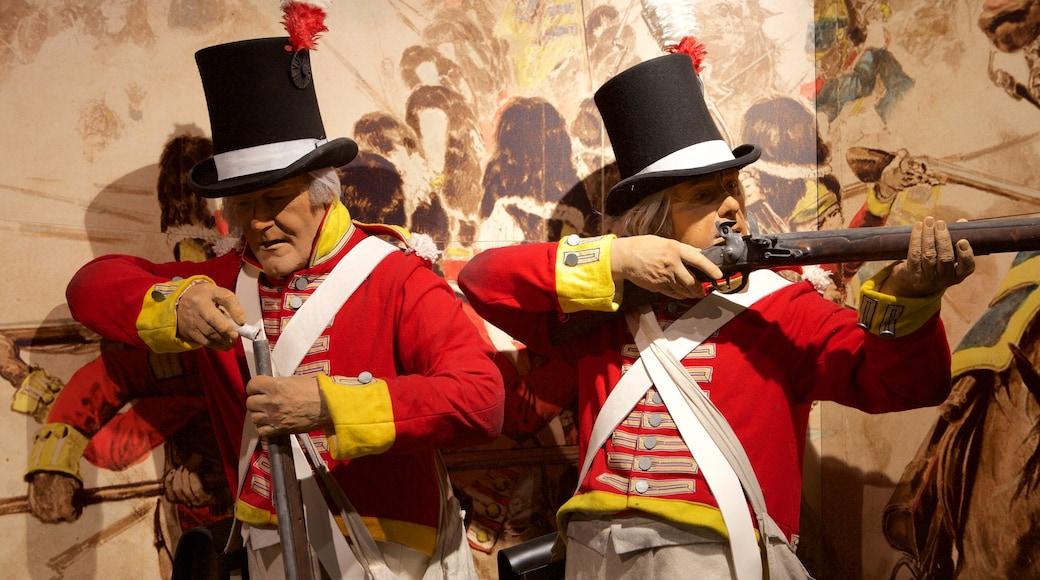 Regiments of Gloucestershire Museum welches beinhaltet Statue oder Skulptur, Militärisches und Innenansichten