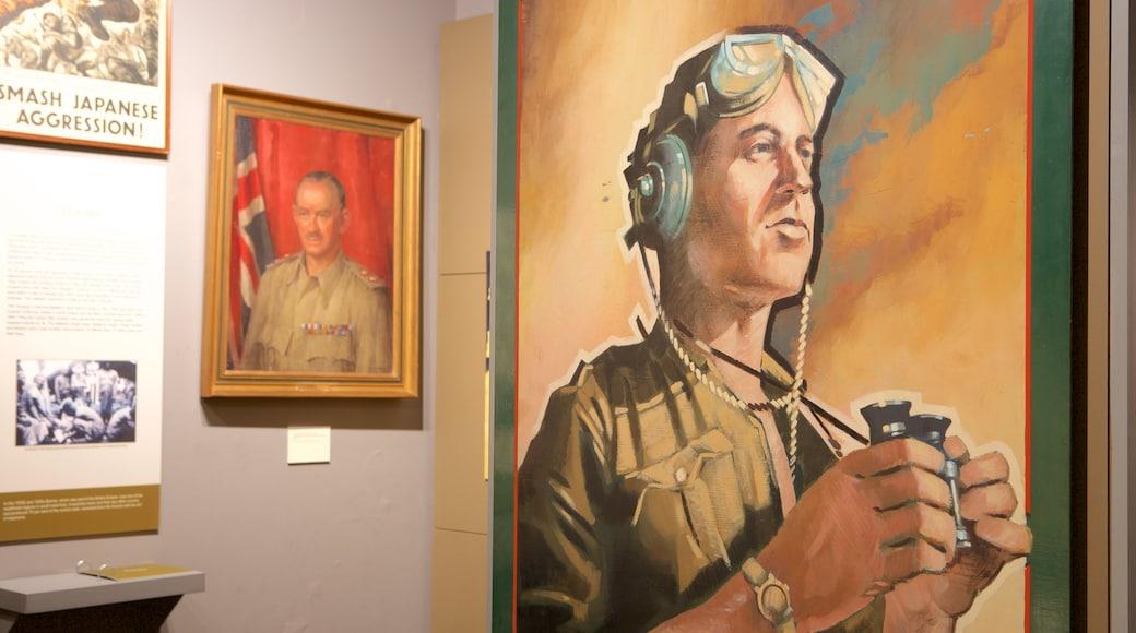 Regiments of Gloucestershire Museum das einen Innenansichten, Militärisches und Kunst