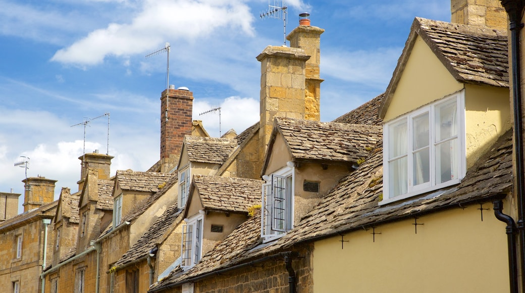 Chipping Campden which includes a small town or village and heritage elements