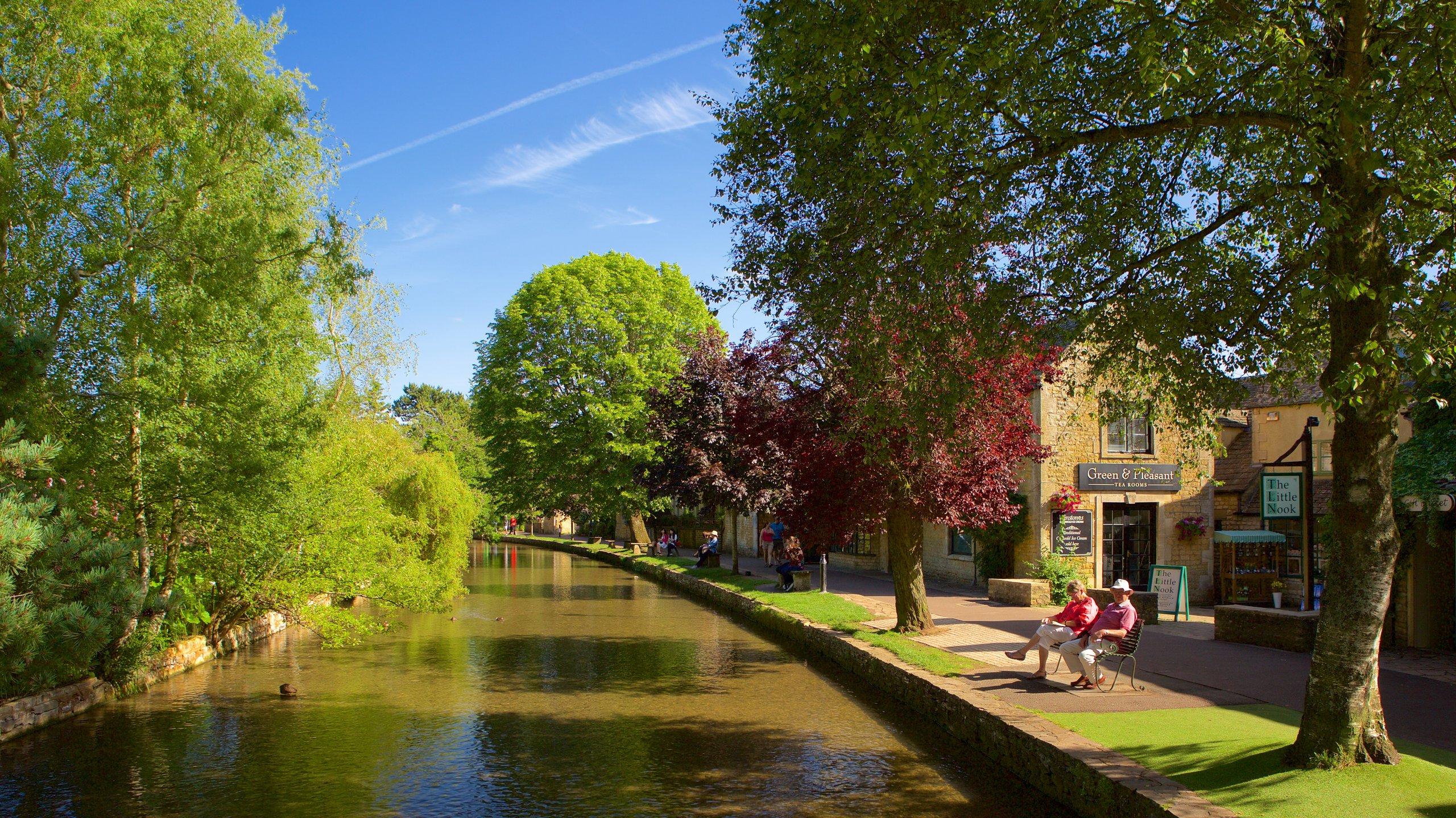 Bourton-on-the-Water, Cheltenham, England, Großbritannien