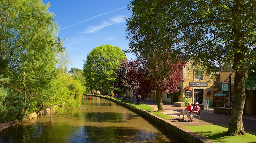 Bourton-on-Water which includes a garden and a river or creek
