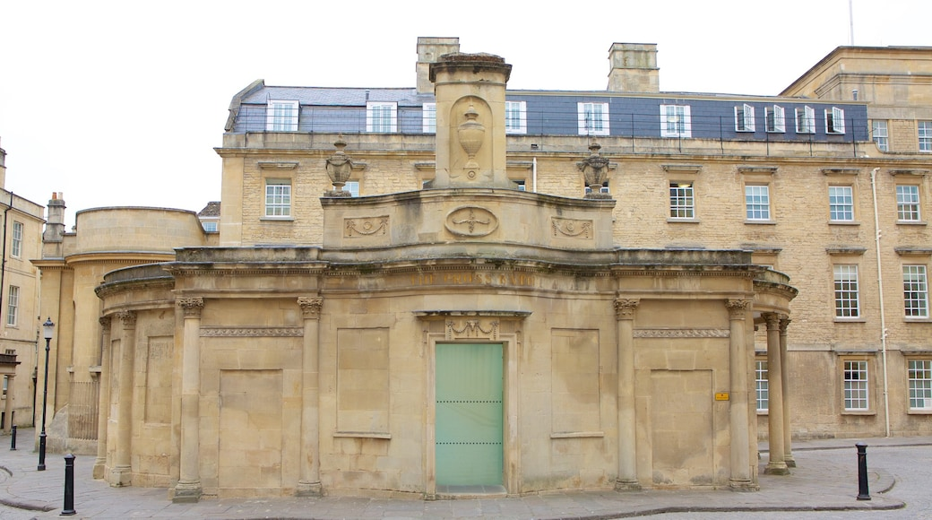 Thermae Bath Spa featuring a day spa and heritage architecture