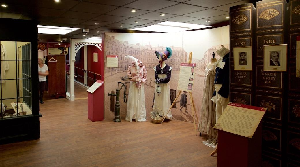 Jane Austen Centre mit einem Innenansichten