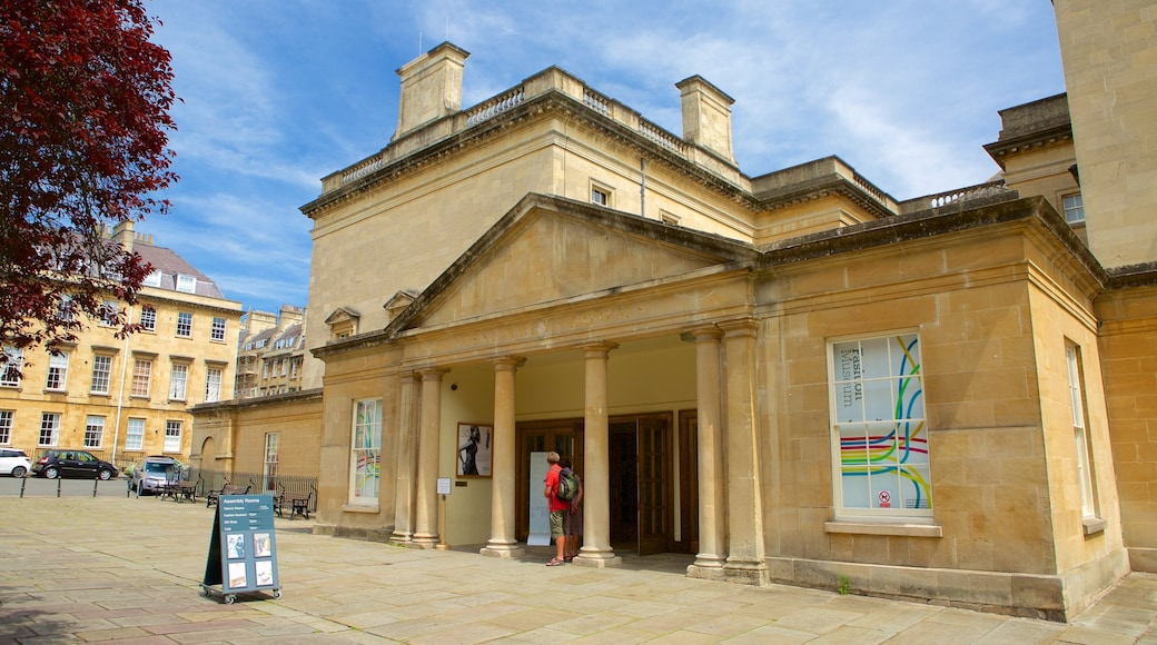 Bath Assembly Rooms which includes heritage architecture