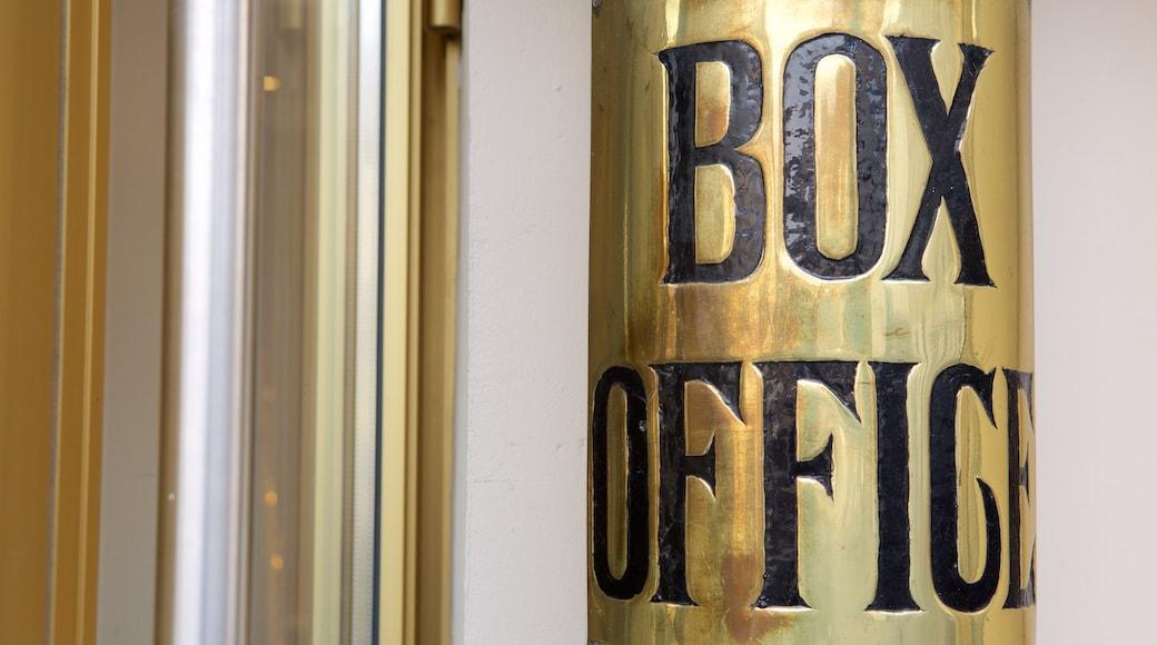 Bath Theatre Royal showing signage