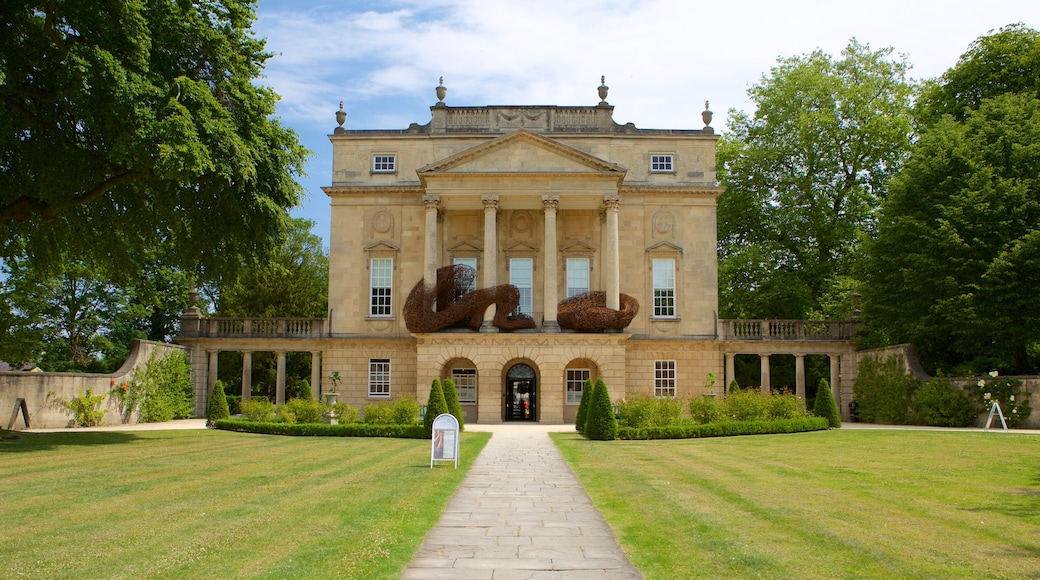 The Holburne Museum featuring a garden and heritage architecture