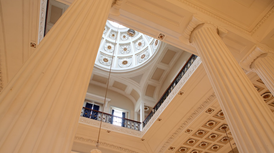 Pitville Pump Room which includes heritage elements, interior views and heritage architecture