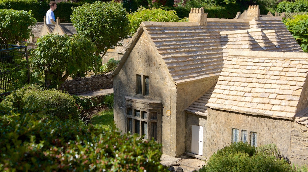 The Model Village showing a house