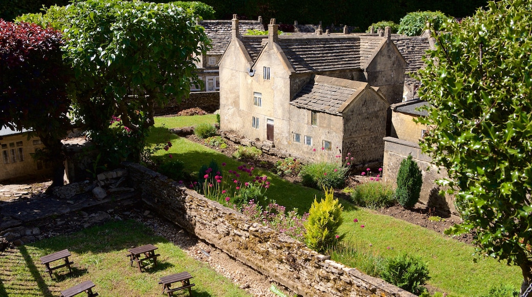 The Model Village which includes a house and a small town or village