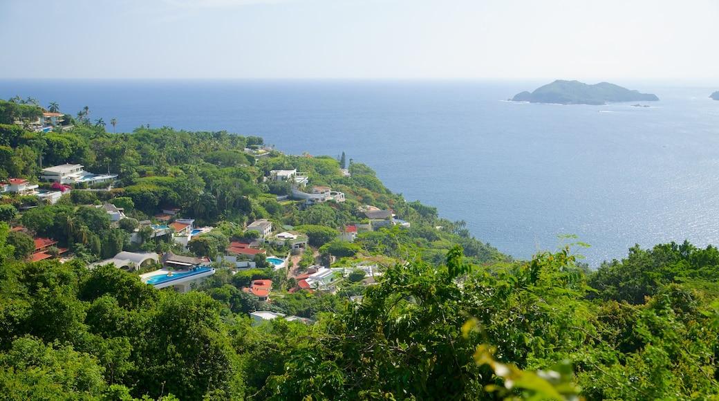 Acapulco que incluye una ciudad costera, vistas de paisajes y vistas generales de la costa