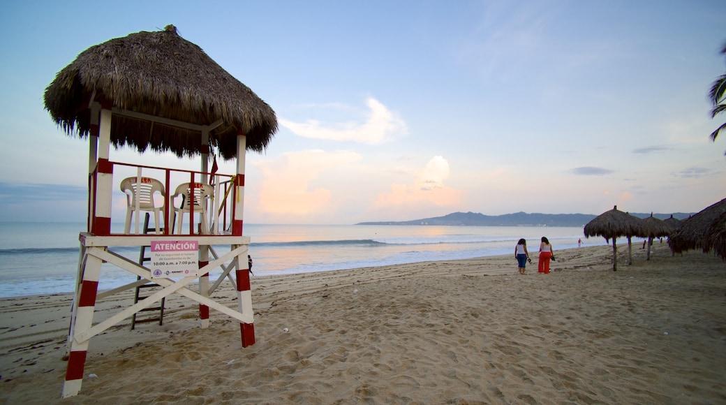 Nuevo Vallarta Beach featuring tropical scenes and a sandy beach