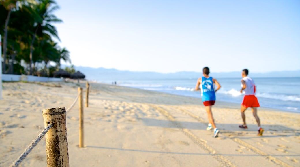 Nuevo Vallarta Beach featuring a sandy beach