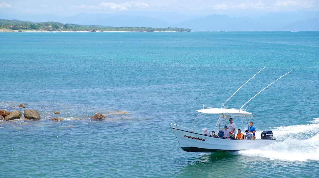 Punta Mita which includes general coastal views and boating