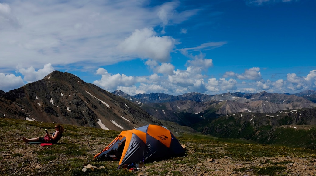 Aspen Mountain featuring camping, landscape views and tranquil scenes