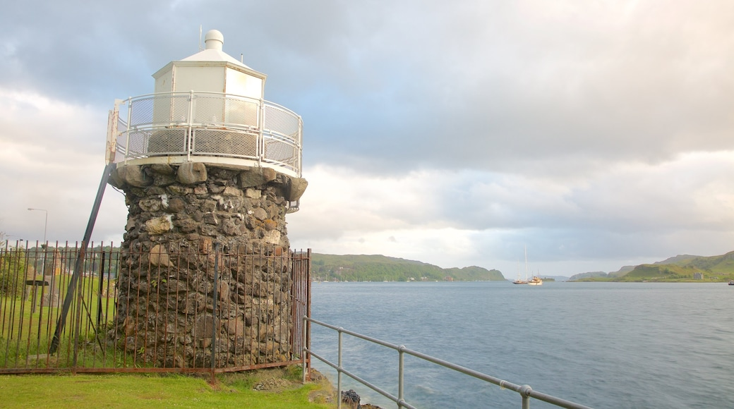 Oban which includes a lighthouse