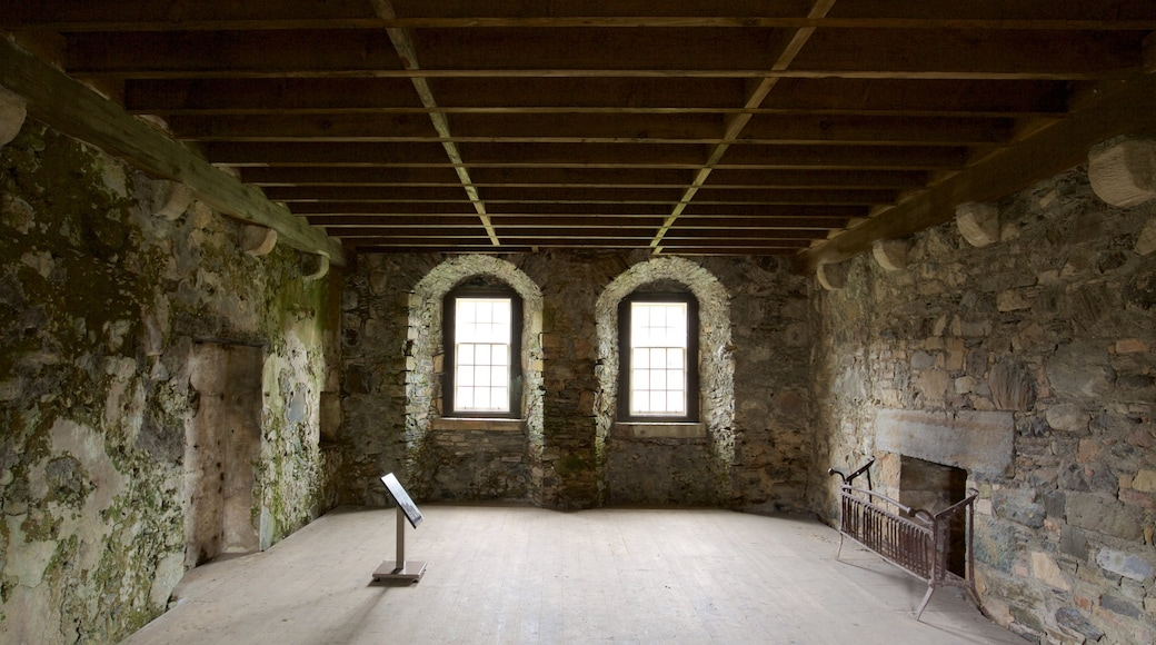 Dunstaffnage Castle and Chapel which includes heritage elements, interior views and heritage architecture