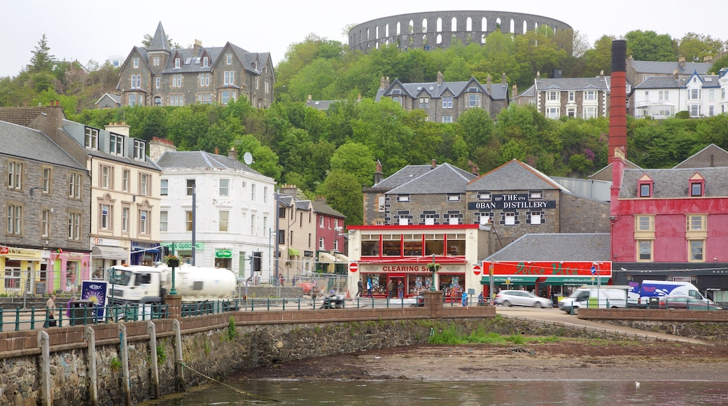 Oban which includes a coastal town