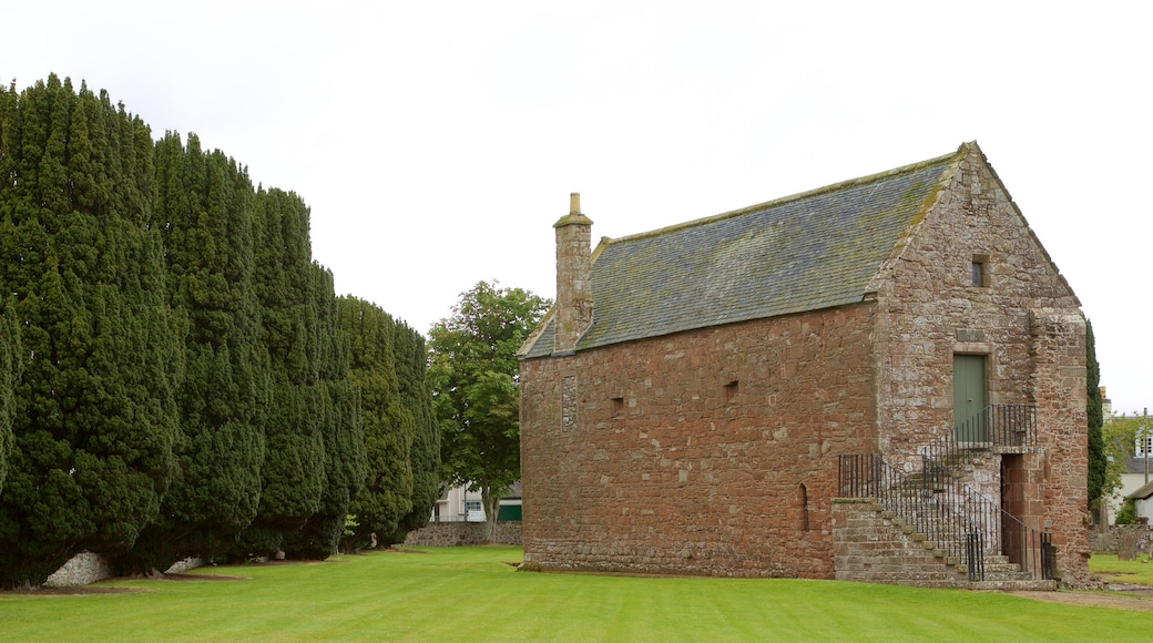 Fortrose Cathedral showing heritage elements and heritage architecture