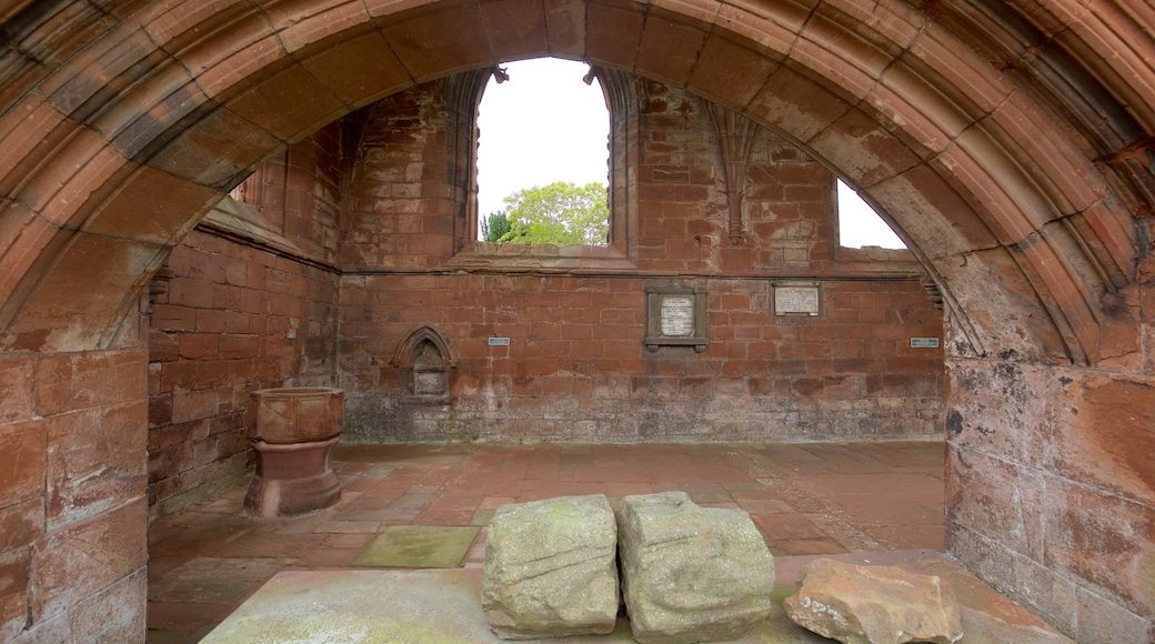 Fortrose Cathedral which includes building ruins, heritage architecture and heritage elements
