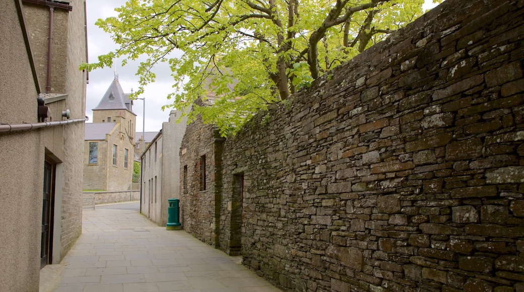 Kirkwall showing heritage elements