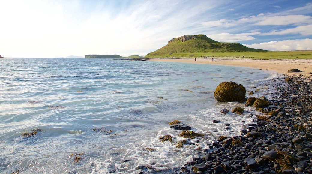 Isle of Skye featuring a beach, tranquil scenes and a pebble beach
