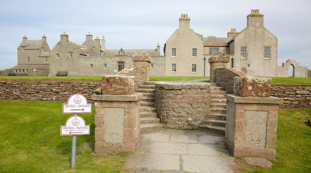 Skara Brae featuring heritage architecture and heritage elements