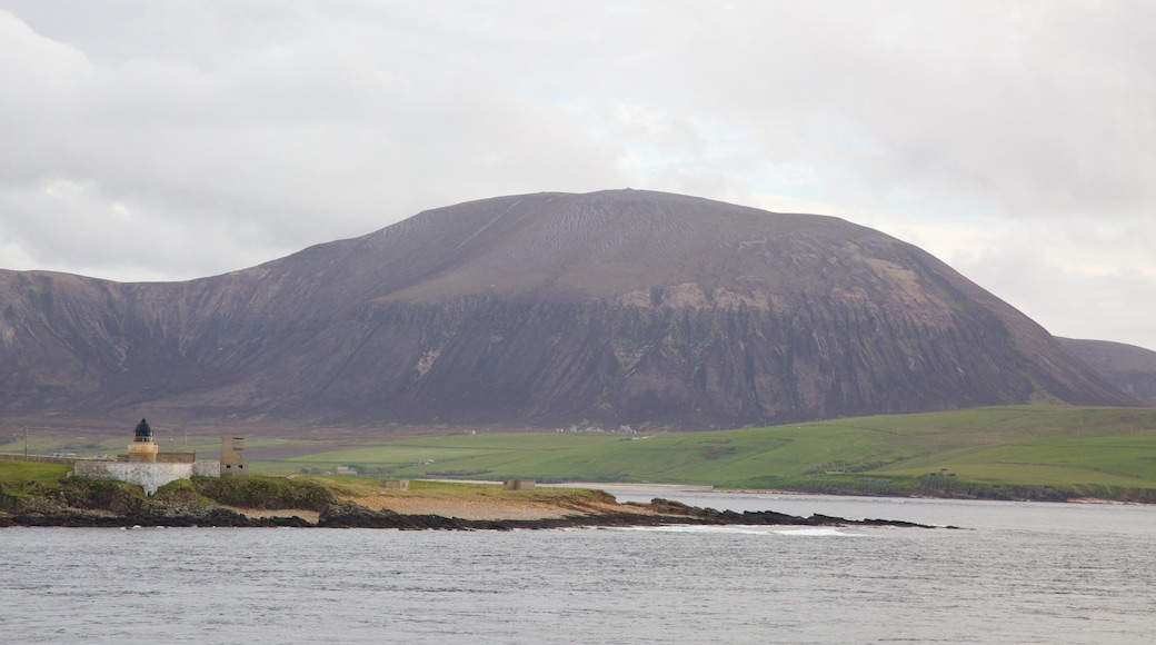 Ward Hill featuring tranquil scenes, a bay or harbour and mountains