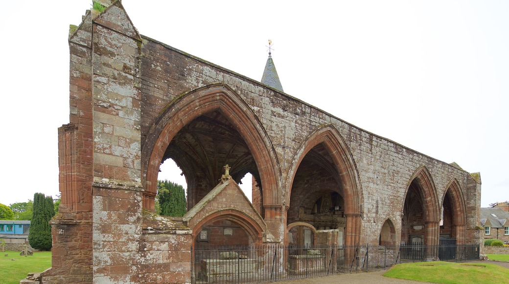 Fortrose Cathedral featuring heritage elements, a church or cathedral and heritage architecture