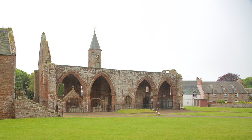 Fortrose Cathedral showing a church or cathedral, heritage elements and heritage architecture