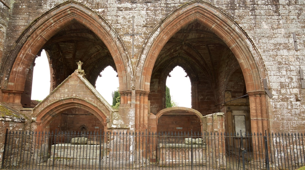 Fortrose Cathedral featuring a church or cathedral, heritage architecture and heritage elements