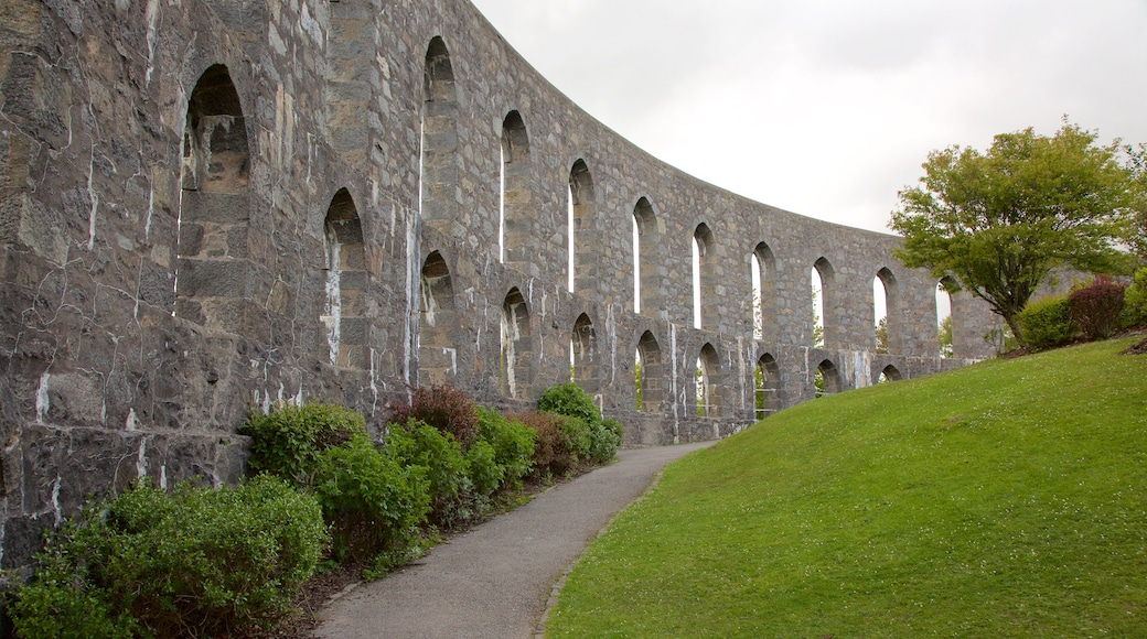 McCaig\'s Tower featuring heritage architecture and heritage elements