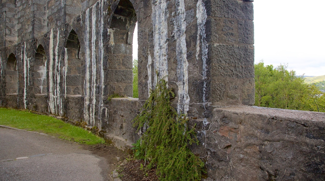 McCaig\'s Tower which includes heritage elements and heritage architecture
