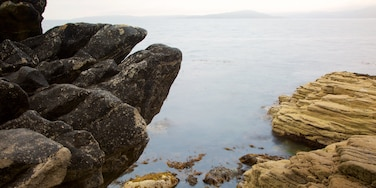 Isle of Skye featuring rocky coastline