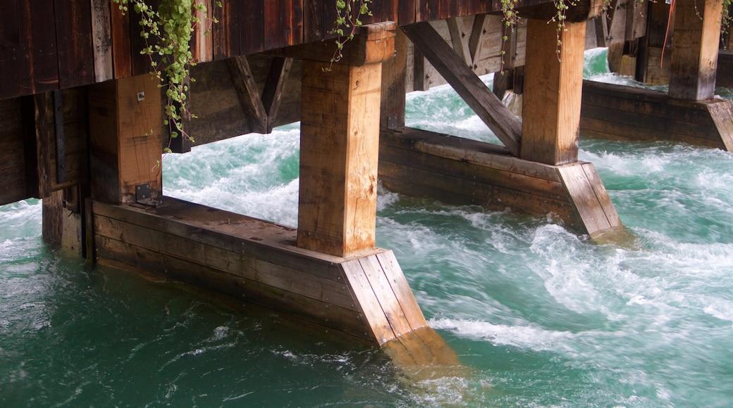 Bern showing a bridge